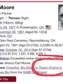 Cool Old Time Baseball Nicknames