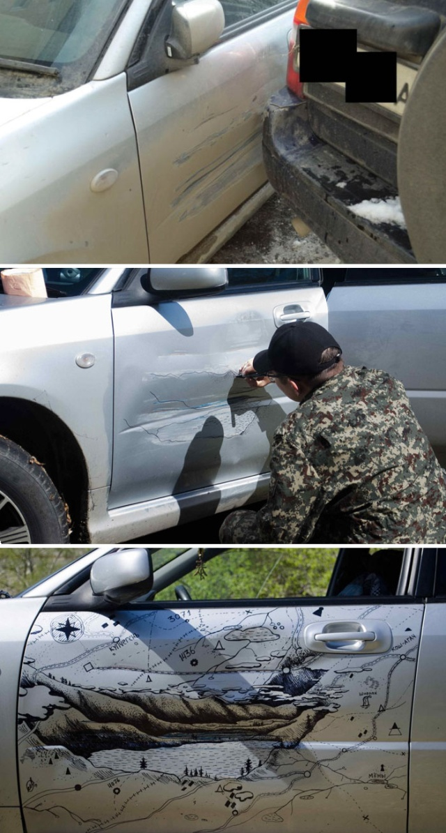 Creative Car Dents And Scratches Repairs