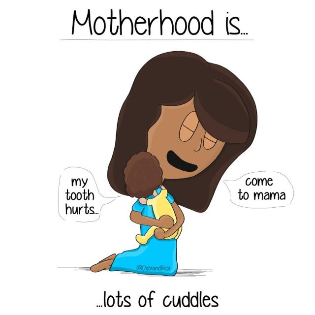 Motherhood Moments In Comics