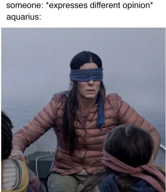 Aquarius Meme