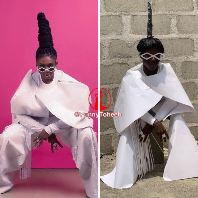 Celebrity Outfit Recreations By Funny Toheeb