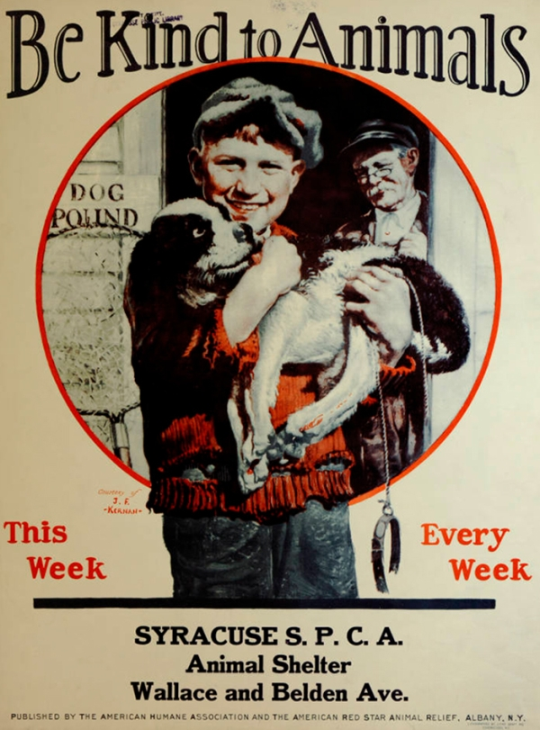 Vintage Posters From The Great Depression Promoting Kindness To Animals