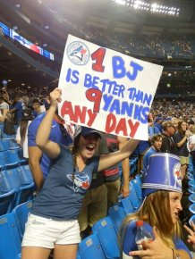 Funny Fan Signs