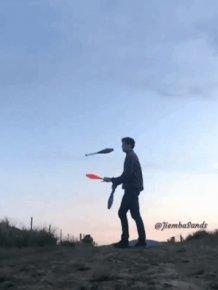 Funny Juggling