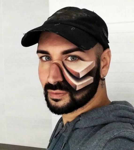 3D Optical Illusions In Makeup