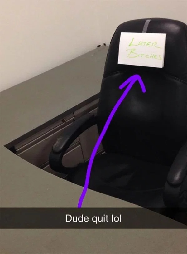 This Is How You Quit Your Job