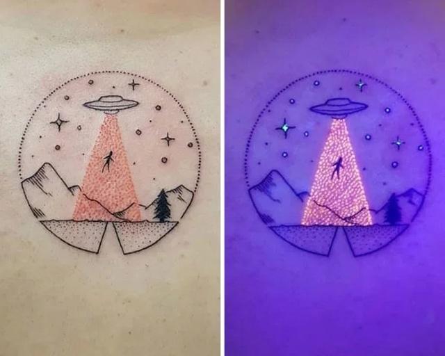 Amazing UV Tattoos
