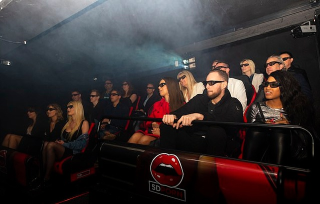 New '5D' Porn Cinema Opens In Amsterdam's Red Light District