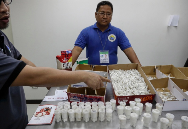 Philippines Seizes 757 Tarantulas From Poland
