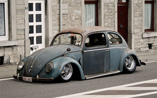 Volkswagen Beetle Rat Rods With Patina Look