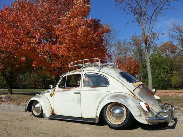 Volkswagen Beetle Rat Rods With Patina Look