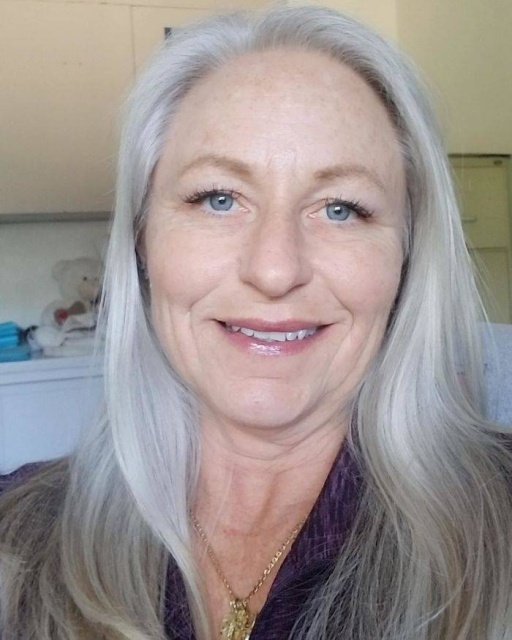 Women with Natural Gray Hair