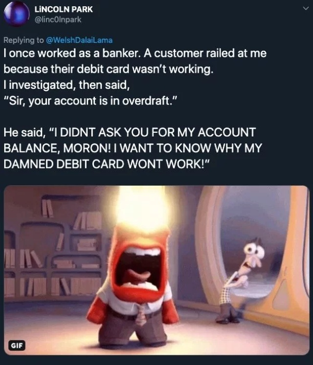 """""""Customer Is Not Always Right"""" Moments"""