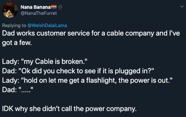 """Customer Is Not Always Right"" Moments"