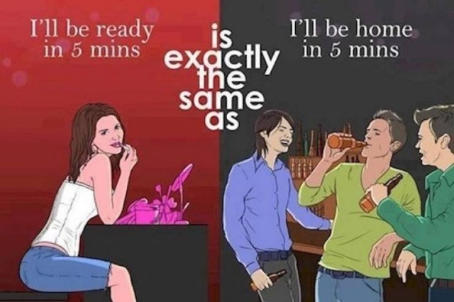 Women And Men Are So Different