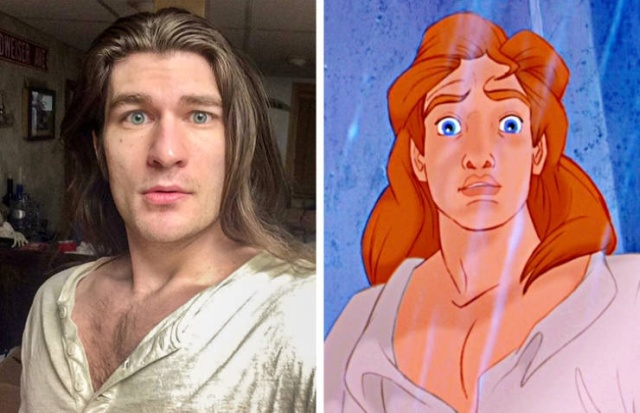 Lookalikes Of Famous Characters