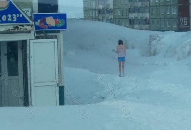 It's Summertime Norilsk, Russia