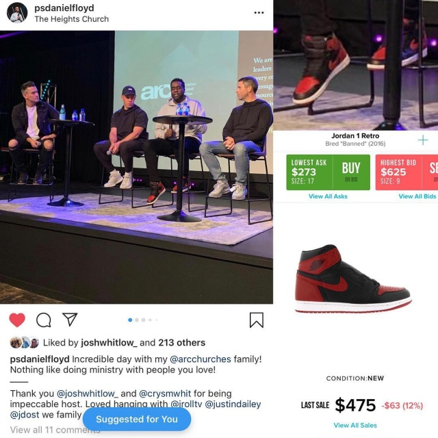 Celebrity Pastors Have Very Expensive Sneakers