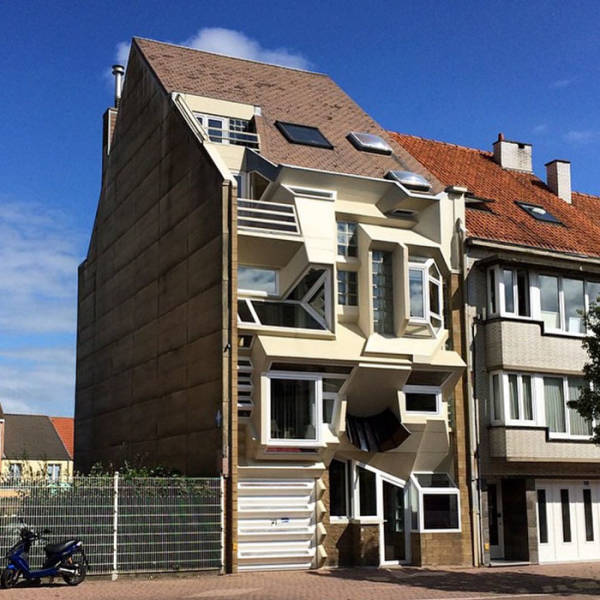 Ugly Houses In Belgium