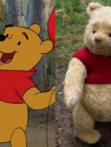 Disney Live Action Movie Characters Vs. Their Animated Prototypes