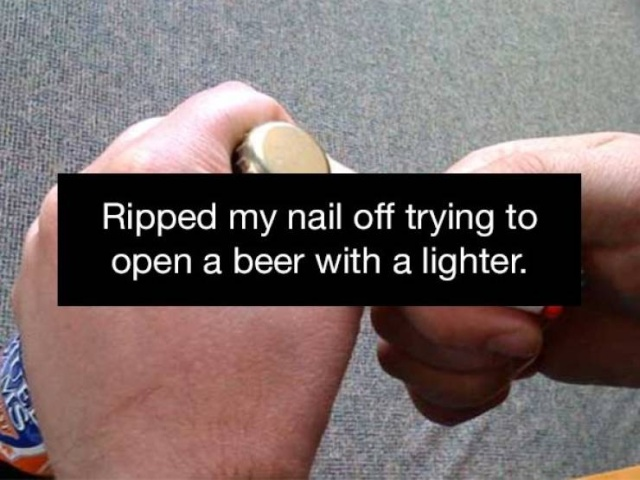 People Always Find Ways To Injure Themselves