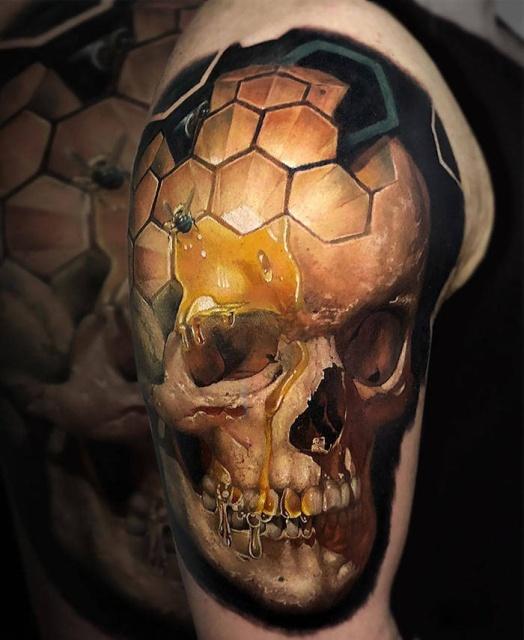 Beautiful 3D Tattoos