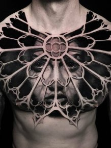 Beautiful 3D Tattoos