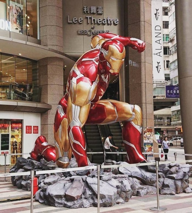 Premiere Of The Film Avengers: The Final In Hong Kong