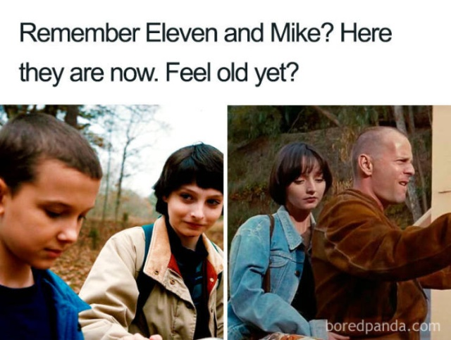 This Is How It Looks Now. Feel Old Yet?