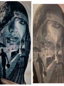 Photoshopping Tattoo Artists