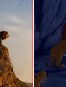 Frame-By-Frame Comparison Of The New Lion King Trailer With The Original Cartoon
