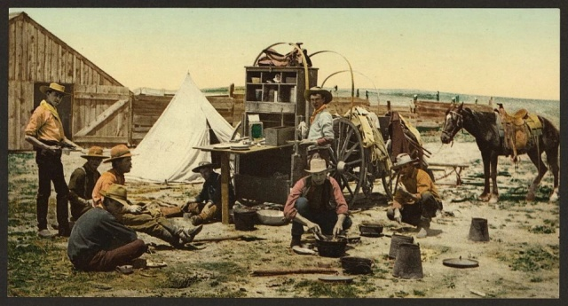 120-Year-Old Colourised Pics Of Wild West