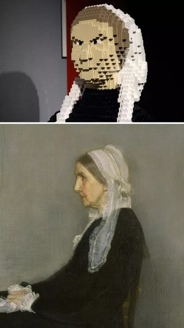 Classical Art With Lego