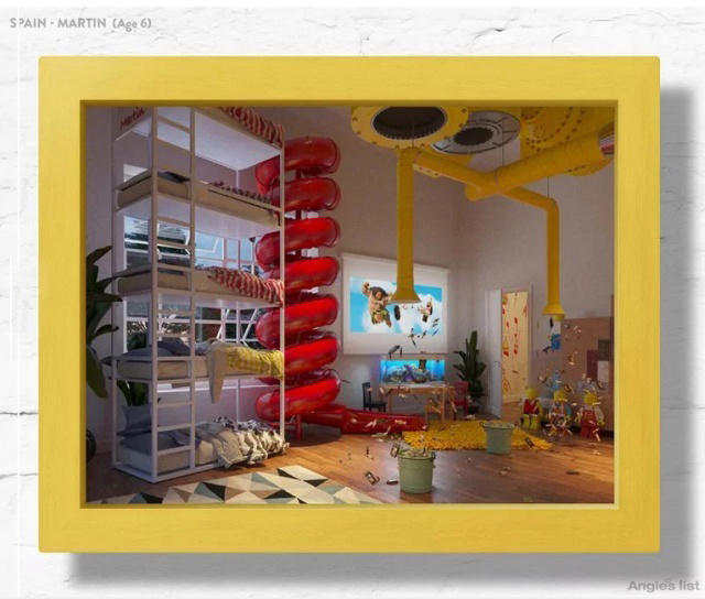 Kids' Dream Bedrooms Brought To Life By Team Of Design Experts