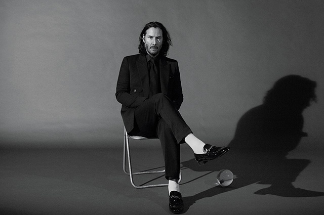 New Photos Of Keanu Reeves