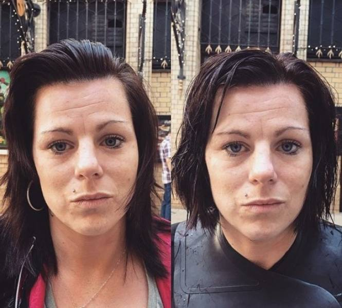 British Hairdresser Gives Homeless People Free Makeovers To Boost Their Self-Confidence