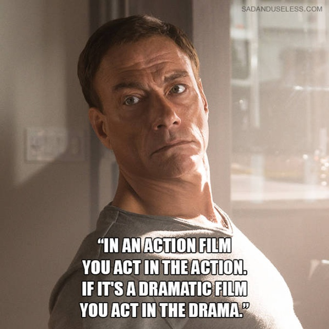 Jean Claude Van Damme Quotes That Don't Seem To Be Real