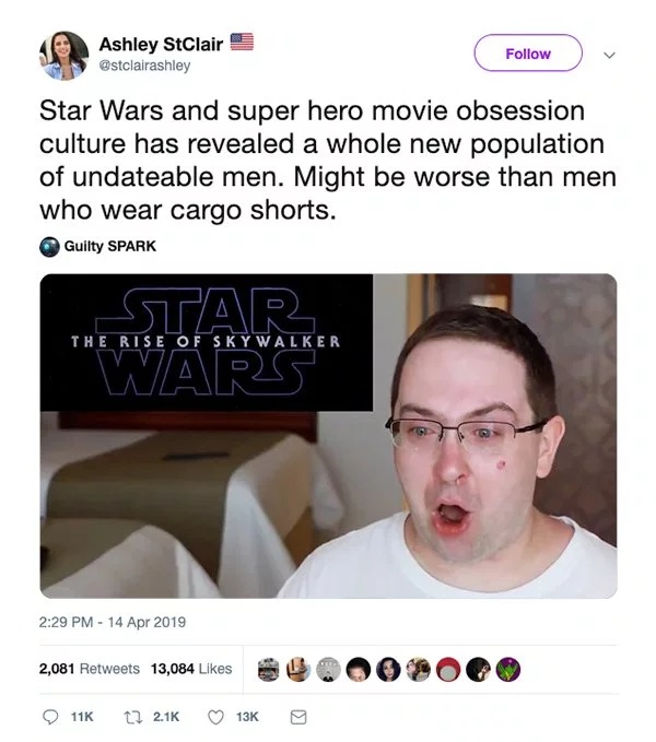 Close-minded Girl Gets Eviscerated After Calling Out Excited Star Wars Fan