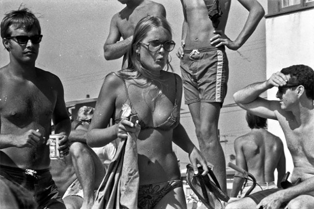 A Day At Mission Beach, California, August 1970, part 1970