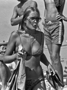 A Day At Mission Beach, California, August 1970