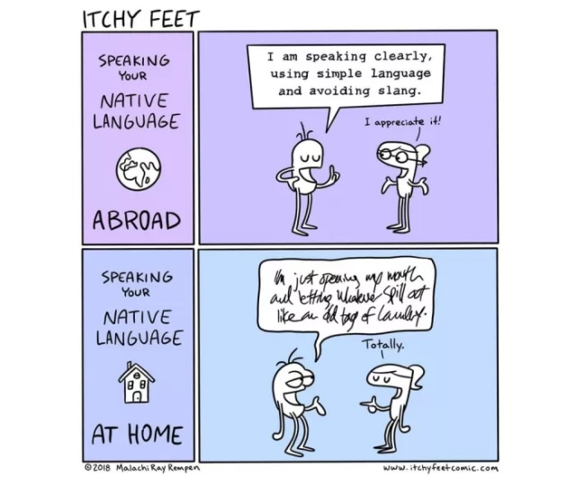 The Differences Between Different Countries And Languages