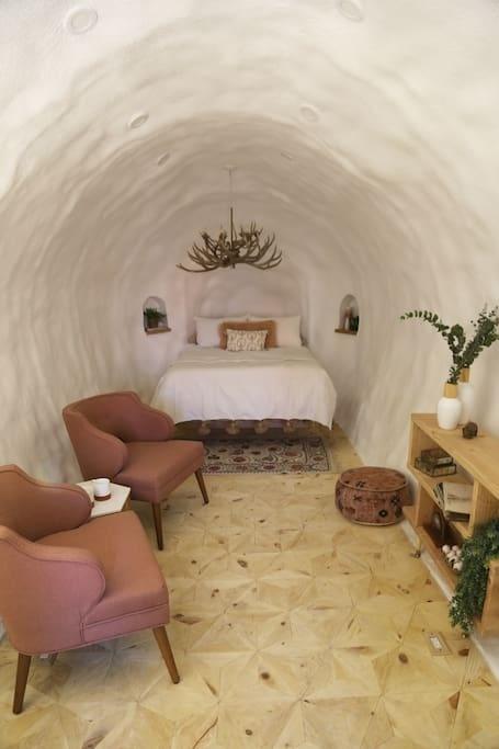 House Inside A Giant Potato