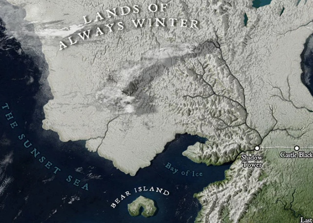 Map Of Westeros That Looks Like A Location On Google Maps