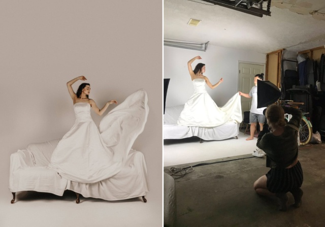 Behind The Scenes Of Creative Photos