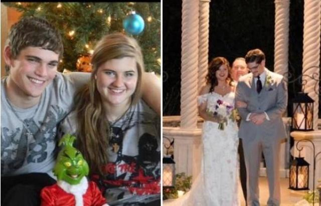 Couples Compare Their Current Photos To Their High School Photos