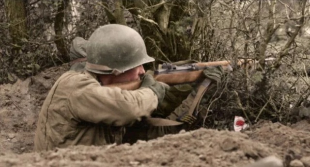Colorized WWII Photos