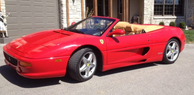 A Burned 1999 FERRARI F355 F1 SPIDER Was For Sale. And Someone Actually Bought It