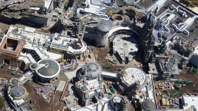 "Disney ""Star Wars"" Land Is Almost Ready"