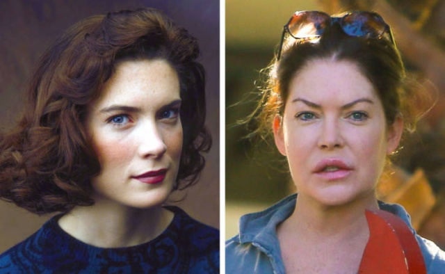 Famous TV Show Actresses From The 90s Then And Now