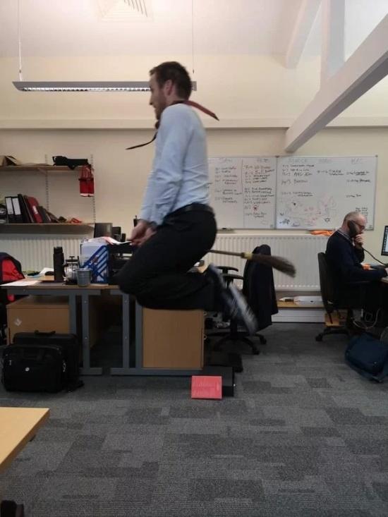 Fun At Work, part 8